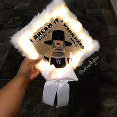 Struggling to figure out how to decorate a graduation cap? Get some inspiration from one of these clever DIY graduation cap ideas in These high school and college graduation cap decorations won't disappoint! Funny Graduation Caps, Graduation Cap Toppers, Graduation Cap Designs, Graduation Cap Decoration, College Graduation, Graduate School, Graduation Pictures, Graduation Ideas, Graduation Shoes