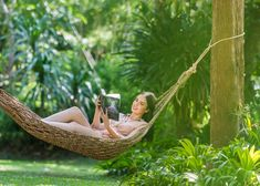 Reading a favorite book among beautiful nature and peace atmosphere are the best recharge.