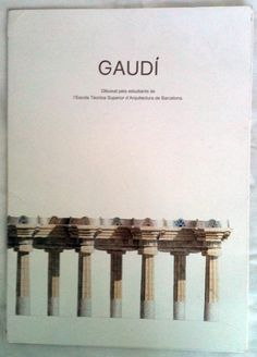 Vintage First Edition Gaudi Dibuixat Pels Estudiants de by buddiet, $430.00