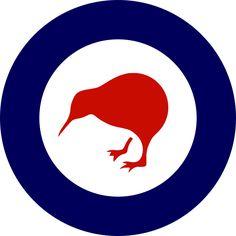 NZ air force roundel features a flightless bird…
