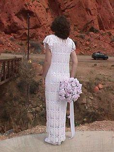 free wedding dress Crochet pattern on ravelry
