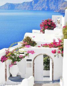 Santorini, Greece. #greecetravel