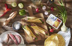 Tacos ze Stekiem i z Salsą z Rzodkiewek