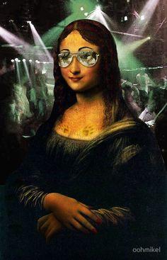 Modern Mona Lisa by oohmikel