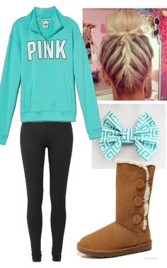 Comfy outfit I can wear while I'm at homeschool but still go out and not look like a train wreck Casual School Outfits, Lazy Outfits, Preppy Outfits, Pink Outfits, College Outfits, Simple Outfits, Outfits For Teens, Cute Outfits, Prestige Clothing