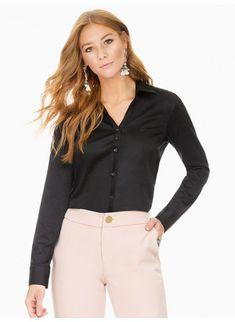 088a79630 41 melhores imagens de Camisas sociais femininas