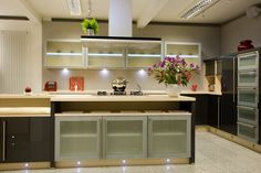 Stylish #kitchen lighting design