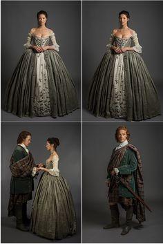 Outlander Serie, Outlander Season 1, Historical Costume, Historical Clothing, Historical Romance, Costumes Outlander, Mode Renaissance, Outlander Wedding, Terry Dresbach