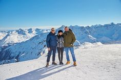 Daniel Craig (James Bond), Léa Seydoux (Madeleine Swann) and Dave Bautista (Hinx) in the Austrian ski resort of Sölden for #SPECTRE.
