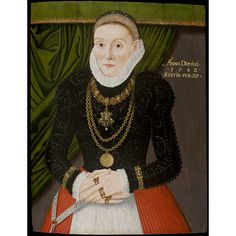 A Lady aged 29 in 1582