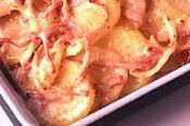 Kraft White Cheddar Scalloped Potato And Ham Bake #recipes