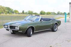 1968 Pontiac Firebird Convertible Maintenance/restoration of old/vintage vehicles: the material for new cogs/casters/gears/pads could be cast polyamide which I (Cast polyamide) can produce. My contact: tatjana.alic@windowslive.com