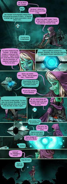 Fan Fiction Destiny Comic