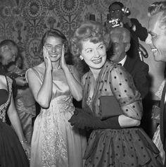 Ingrid Bergman & Lucille Ball