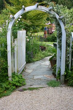 garden arch | Flickr - Photo Sharing!