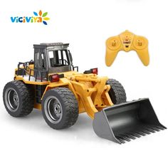"""Rare """"Front End Loader"""" RC Toy For Kids And Adults - FUN!!"""