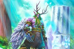 Yesterday, Blizzard dropped a Hearthstone balance update that could easily qualify as the most significant set of nerfs the game has ever seen. The Druid Hearthstone Wallpaper, Hearthstone Heroes, Blizzard Hearthstone, War Craft, Night Elf, Wow Art, Indie Games, World Of Warcraft, Cosplay Girls