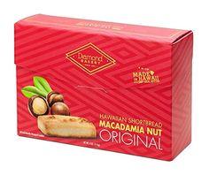 Hawaiian Shortbread Macadamia Nut Cookies, Original 4 ounce (113g) Hawaiian Cookies, Macadamia Nut Cookies, Shortbread, Gourmet Recipes, Bakery, The Originals, Food, Essen, Meals