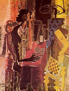 Patience (1942) - Georges Braque #cubism