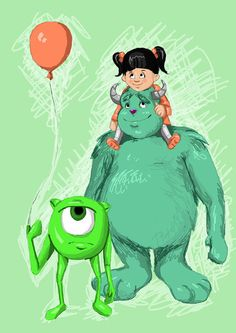 Monster Inc by Coffeejuice.deviantart.com on @deviantART