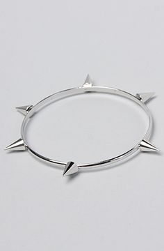 *Accessories Boutique The Silver Spiked Bracelet :  #MissKL and #SpringtimeinParis