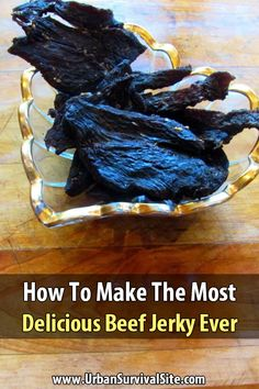 Jerky Recipes, Beef Recipes, Cooking Recipes, Smoker Recipes, Chicken Recipes, Emergency Food, Survival Food, Emergency Preparedness, Kitchens
