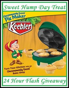Mini Pie Maker FLASH Giveaway-Ends 1/9 (US)