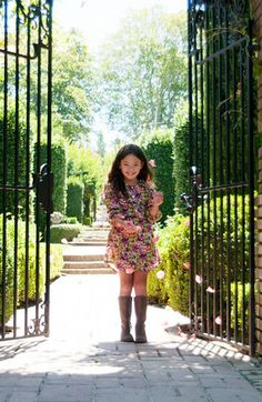Peek 'Miller' Dress (Toddler Girls, Little Girls & Big Girls) | Nordstrom