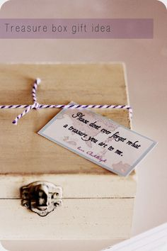 """This would be a great teacher gift. Inside you fill it with """"treasure"""" chocolate candies. happymoneysaver.com"""