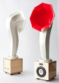 Horn speakers by Specimen