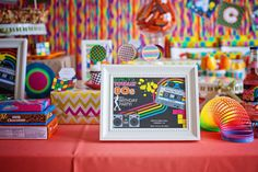 1980's Birthday Party Ideas | Photo 1 of 107 | Catch My Party