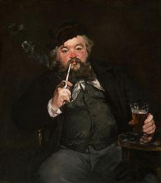 Édouard Manet - Le Bon Bock [1873]