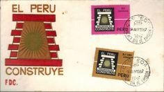 Peru 1967 FDC Construye