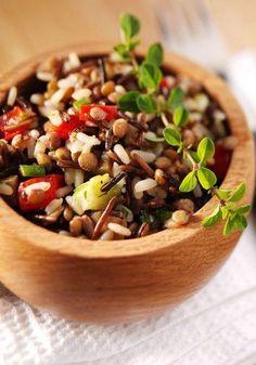 Amaránt, hajdina, köles köretek Herbed Rice, Rice Cooker, Kung Pao Chicken, Main Meals, Cantaloupe, Grains, Paleo, Vegetables, Fruit