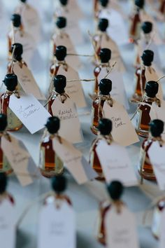 Whiskey Wedding Favours