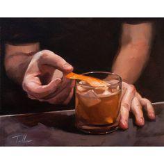 Matt Talbert cocktail art