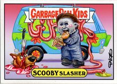 Halloween Garbage Pail Kid by Luis Diaz