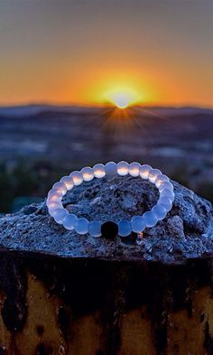 The Lokai Bracelet serves as a little reminder to stay positive through life's challenges. The black bead is injected with mud from The Dead Sea and the white bead is injected with water from Mt. Everest. The highest and lowest points on Earth. Love it!