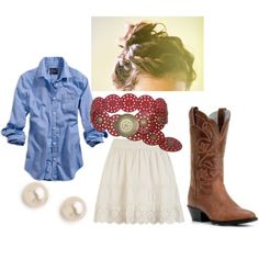 """""""country summer"""" by mariahlang on Polyvore"""