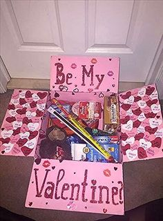 Ideas birthday gifts diy for boyfriend care packages for 2019 – Presents for boyfriend diy Valentines Day Care Package, Diy Valentine Gifts For Boyfriend, Cute Boyfriend Gifts, Cute Valentines Day Gifts, Presents For Boyfriend, Valentine Box, Boyfriend Birthday, Boyfriend Ideas, Valentines Day Presents