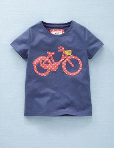 T-Shirt mit witziger Applikation
