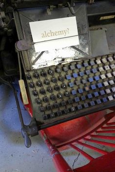 Linotype machine at Coach House Books