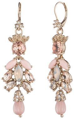 Marchesa Cluster Drop Earrings