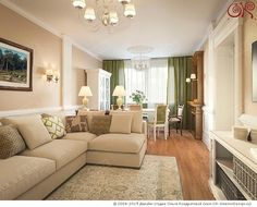 Дизайн гостиной в неоклассическом стиле http://www.ok-interiordesign.ru/blog/dizayn-gostinoy-v-stile-neoklassika-foto.html