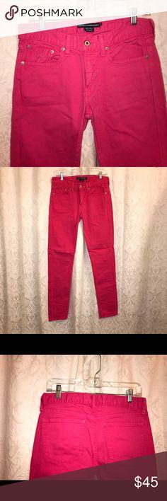 Ralph Lauren Hot Pink Jeans Ralph Lauren Hot Pink Jeans. Women's size 28. Only worn a few times, in good condition. Ralph Lauren Jeans Skinny