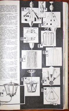 S:t Olofs Antik o Retro blogg: Lampor från Gunnars Fabriker i Nässjö 1960