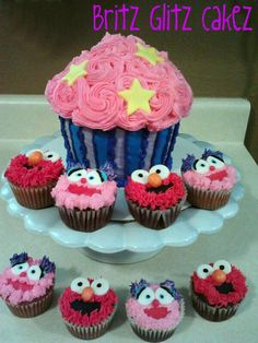 Publix Monster High Cupcake Cake