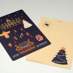 markka original [ TIVOLI ] ポストカード - カフェ、アンティーク マルカ - 神戸・北野の北欧カフェ&ヴィンテージ、kaffe antik markka