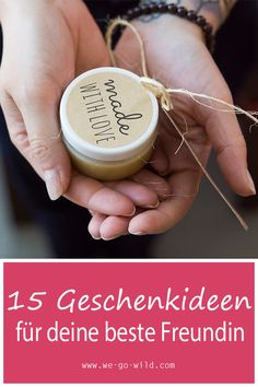 22 wunderbare DIY Geschenkideen für die beste Freundin Your best friend's birthday is coming and you don't know what to give her? We have great gift ideas for Diy Gifts For Girlfriend, Diy Gifts For Mom, Diy Gifts For Friends, Best Friend Gifts, Boyfriend Gifts, Best Friends, Friends Girls, Best Friend Birthday, Birthday Diy