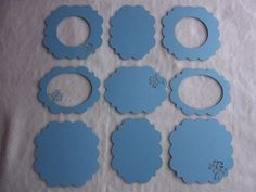 Scrapbook Frames and Piece Set of by JudeAlyssaMarkus Scrapbook Frames, Scrapbook Embellishments, Paper Doilies, Very Lovely, Etsy